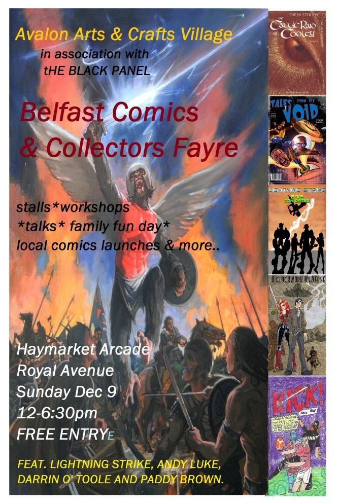 BELFAST COMICS FAYRE 2012