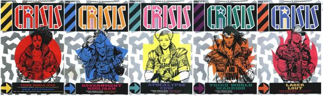 Crisis first five covers