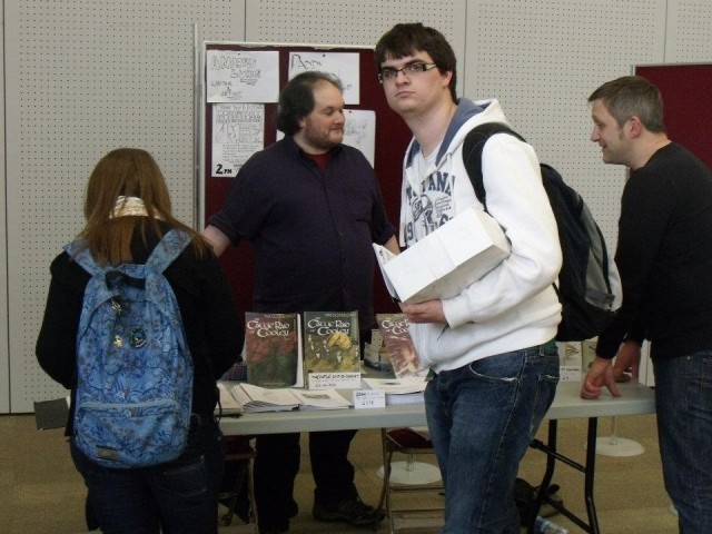 Paddy Brown at ComicsWest