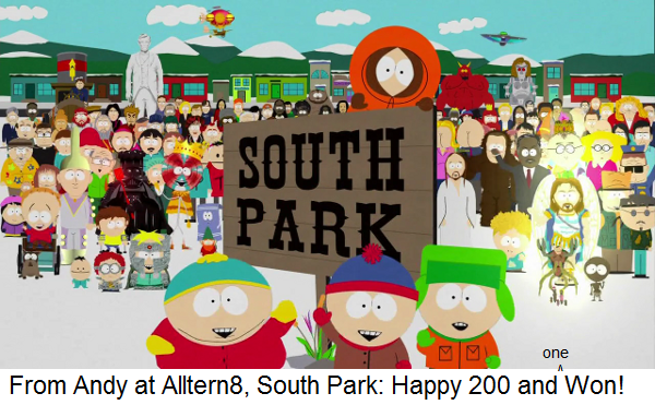 south park happy 200 and won