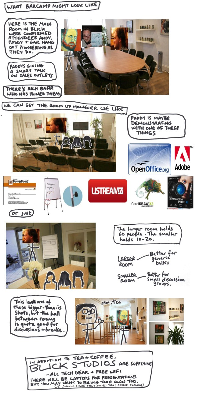 What Barcamp Might Look Like