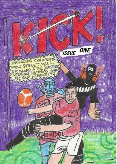 kICK 1 COVER