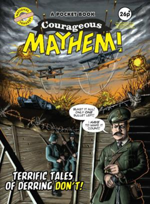 Cover Courageous Mayhem