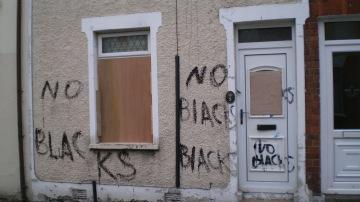 Belfast Racism 1 - Credit Andy Luke