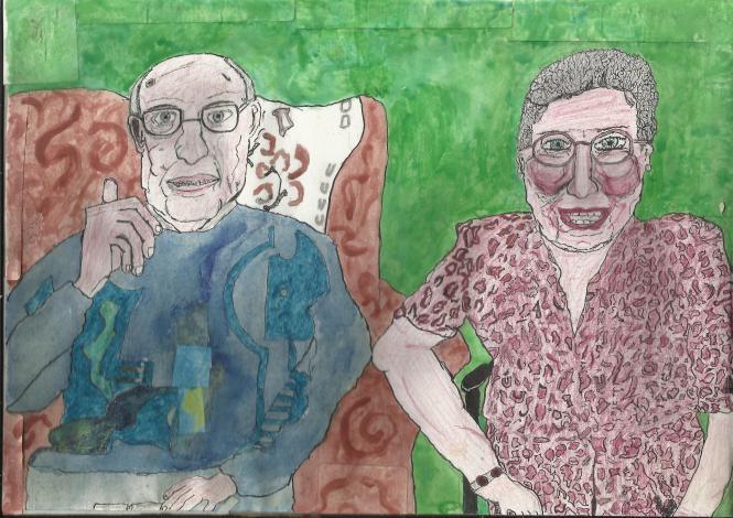 Gran and Grand-dad colour