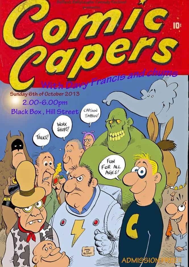 01 Comic Capers