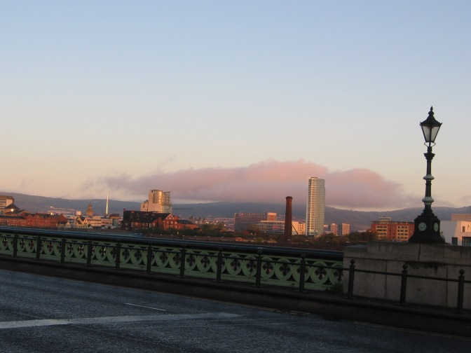 Belfast Bridge - Morning