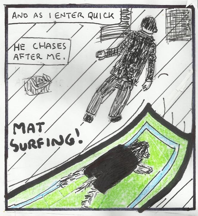 Charlie - Mat Surfing