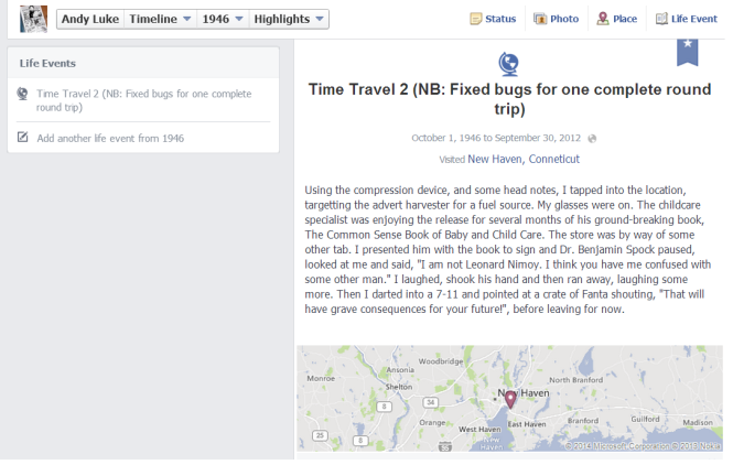 08 Facebook DOB Game - Time Travel