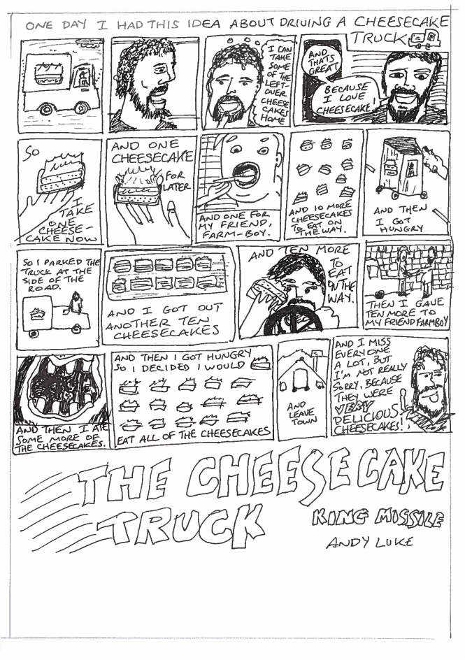 Andy Luke - King Missile - Cheesecake Truck - Titancon 2014