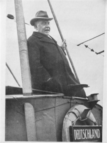 bottomley on board ship - 1918
