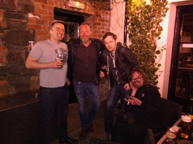 Beer Garden: Andrew Gallagher, Ryan Brown and Glenn Fabry